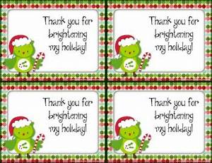 FREE Holiday Christmas Thank You Cards also in Spanish