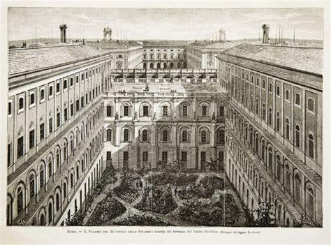 Ministero De Interno by Roma Il Palazzo Ministero Delle Finanze Interno