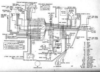 Honda Glenns Electrical Wiring Diagram Circuit