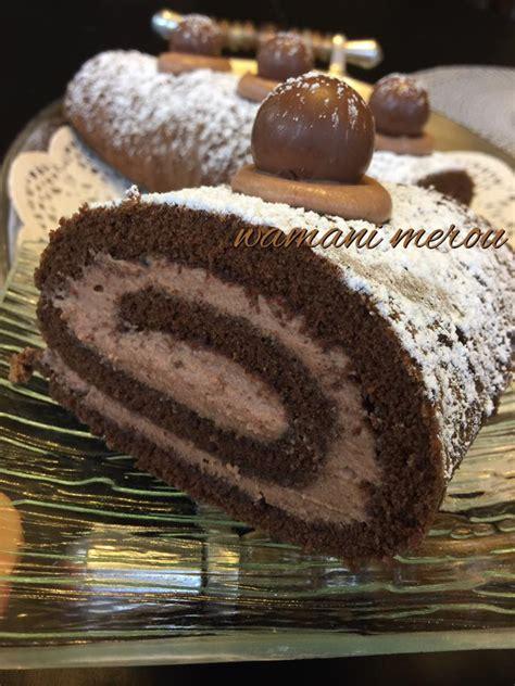 cuisine en chaine gâteau roulé à la mousse au chocolat amour de cuisine