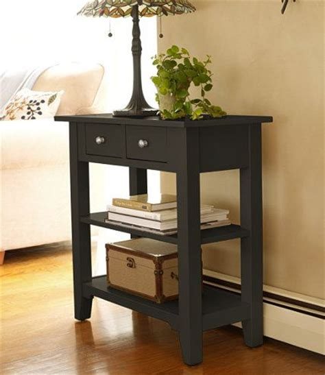 bedroom side table l ideas painted cottage storage console storage and organization