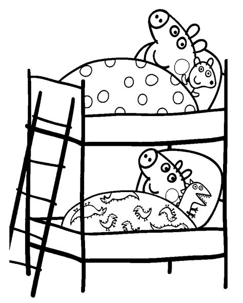 peppa pig peppa pig coloring pages to print for free and color
