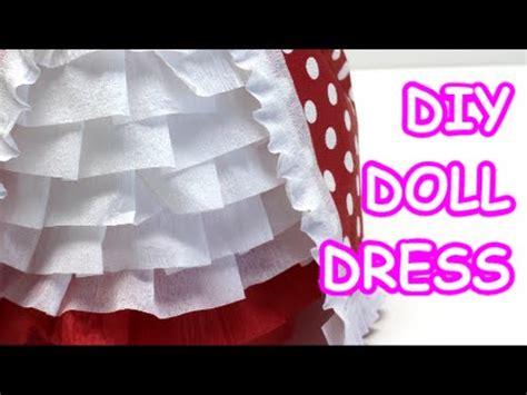 diy doll dress tissuecrepe paper  water bottle dolls
