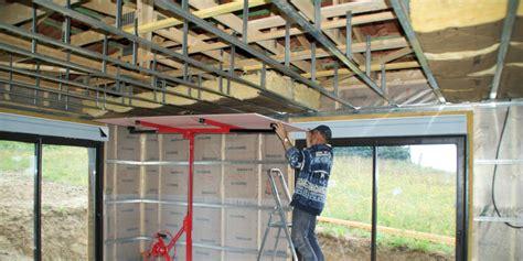 plafond placo maison travaux