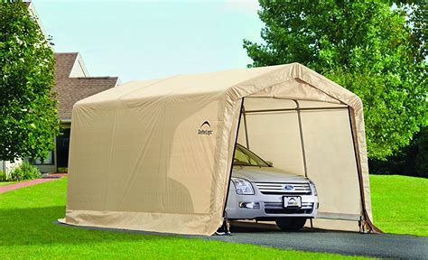 10 X 20 Garage by 10 X 20 New Auto Shelter And Portable Garage