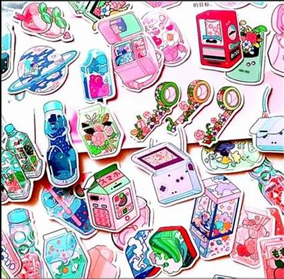 Aesthetic Kawaii Stickers 190pcs Stationery Gifts