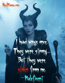 Maleficent Quote Wings