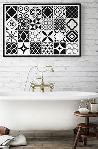 les 36 meilleures images du tableau carrelage mural With carrelage adhesif salle de bain avec prix d une led