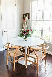 la plus originale table de cuisine ronde en 56 photos With table blanche design salle manger pour deco cuisine