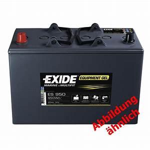 Batterie Exide Gel : exide equipment gel batterie es 900 mahag shop ~ Medecine-chirurgie-esthetiques.com Avis de Voitures