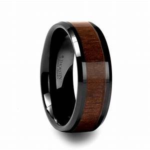 mens wedding rings mens wedding bands with wood inlay With mens wedding rings wood inlay