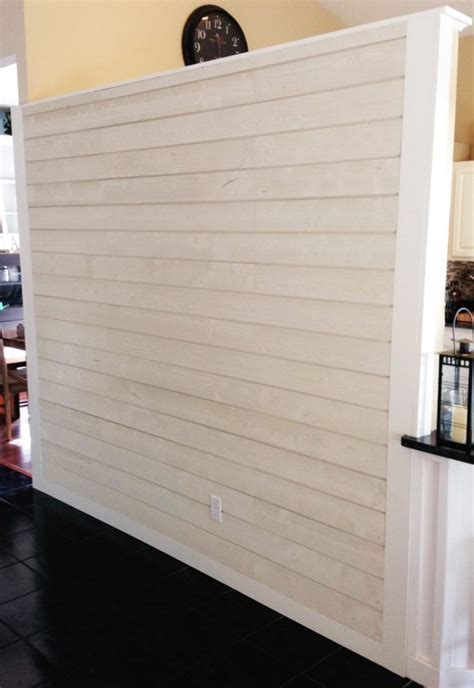 5 Inch Shiplap by How To Diy A Shiplap Accent Wall In One Day