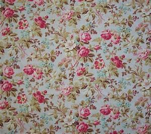 Vintage Floral Fabric | www.imgkid.com - The Image Kid Has It!