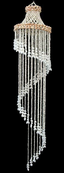 Shell Chandelier Wholesale by Shell Wind Chime White Seashell Spiral 52 Inch Ebay