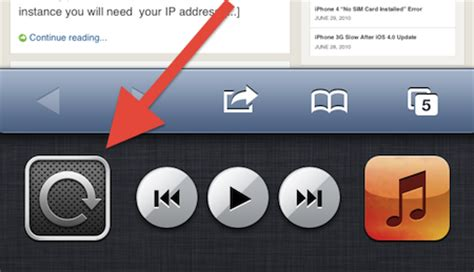 iphone orientation lock how to lock unlock screen rotation iphone ipod touch