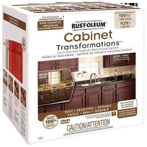 Cabinet Refacing Kit Diy by Rust Oleum Cabinet Transformations Do It Yourself Cabinet