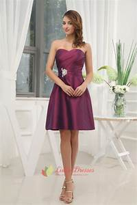 dark purple bridesmaid dresses summer weddingpurple With summer cocktail dresses for weddings
