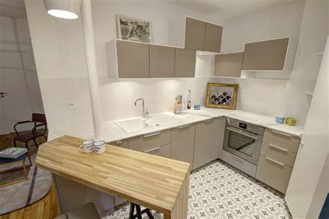 carreaux de ciment cuisine design nordique séjour déco
