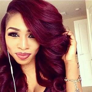 Burgundy Hair Color Ideas Best Dark Red Hairstyles