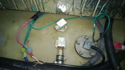 grounding a plastic gas tank boatbuilding