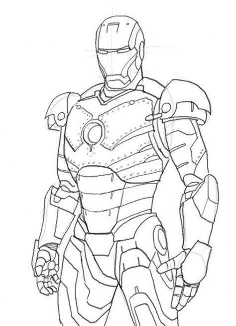 iron man colouring  pagesdownload printable super