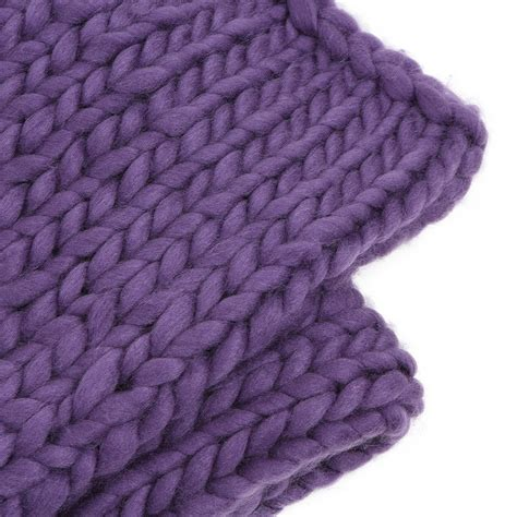 chunky blanket warm chunky knit blanket thick yarn bulky big sofa throw blanket handwoven r1x2 ebay