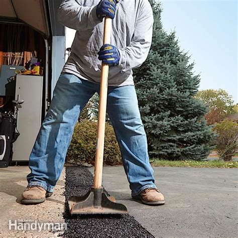 How to Fix a Sinking Driveway   The Family Handyman