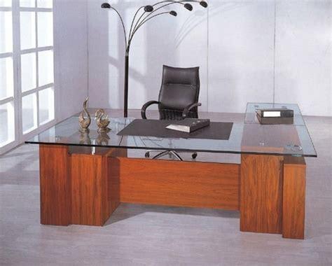 bureau bois verre bureau design bois verre mzaol com