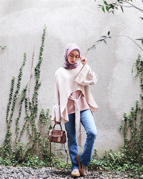 30+ Inspirasi Fashion Hijab Selebgram 2018