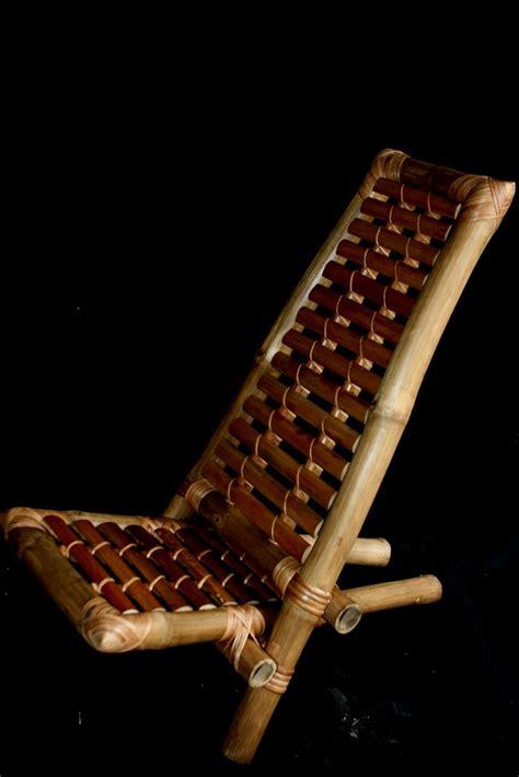 la chaise de bambou la chaise à palabre ou chaise de gardien meuble africain