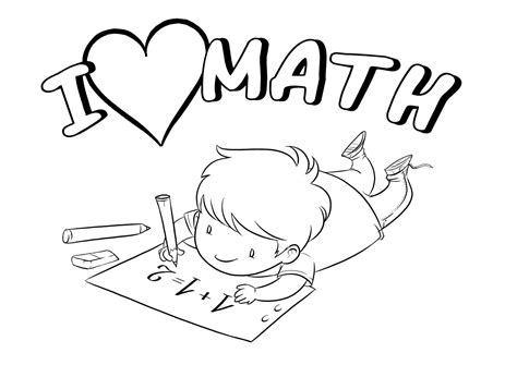 free printable math coloring pages for best