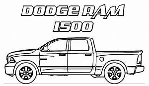 coloring pages cars and trucks - dodge car ram 1500 trucks coloring pages dodge car ram