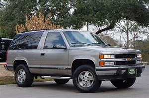 1998 Chevrolet Tahoe Suv 2 Door For Sale 48 Used Cars From  3 000