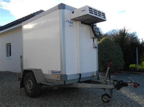 remorque chambre froide remorques utilitaires frigorifiques en belgique