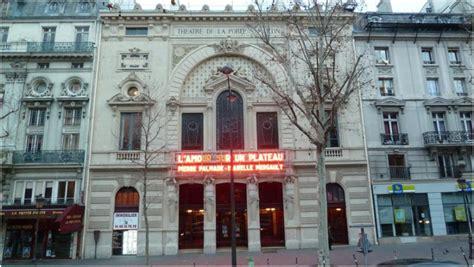theatre porte martin par les passages de 1