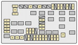Toyota Fj Cruiser  2006 - 2007  - Fuse Box Diagram