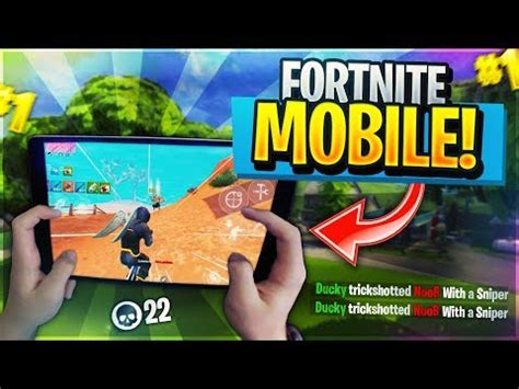 pro fortnite mobile player  wins grinding