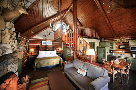 room cabin  loft big cedar lodge