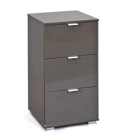 bureau caisson caisson de bureau 3 tiroirs quot nakano quot noir