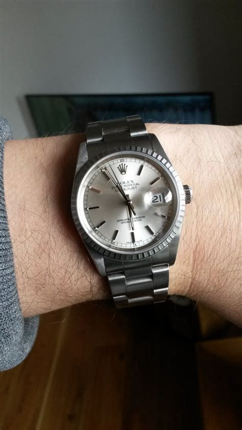 The Rolex Datejust 16220 Steel on Oyster Bracelet - The ...