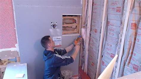 how to install shower surround tile backer board part quot 2