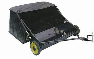 Lawn Sweeper 42 U0026quot  Brand New For Ride On Lawn Mower