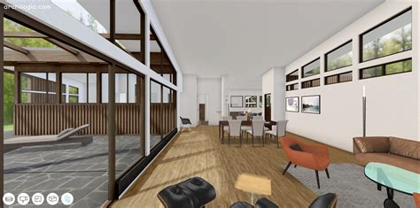 gallery of a virtual look into richard neutra s unbuilt case study house 6 the omega house 7