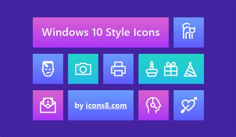Windows 10 Icon Pack - 4,700 Free Icons