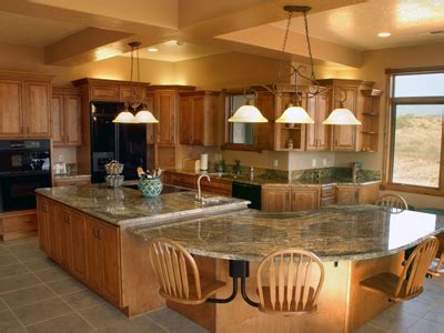 big kitchen designs large kitchen island with seating homes gallery 1650