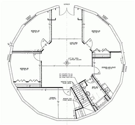 Floor Plans For Round Homes  Homes Floor Plans
