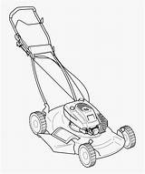 Mower Lawn Vector Silhouette Coloring Mowers Pages Riding Push Zero Turn Clip Mowing Clipart Library Drawing Colouring Colour String Trimmer sketch template