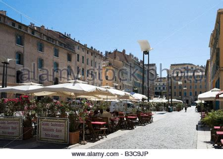 cours de cuisine marseille vieux port outdoor bar and restaurant in the cours saleya in