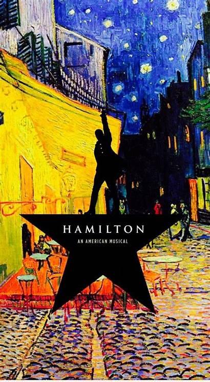 Hamilton Wallpapers Musical Broadway Gogh Lock Lin