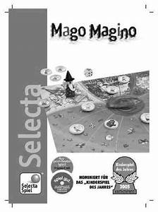 Selecta 3574 Mago Magino Toy   Game Download Manual For